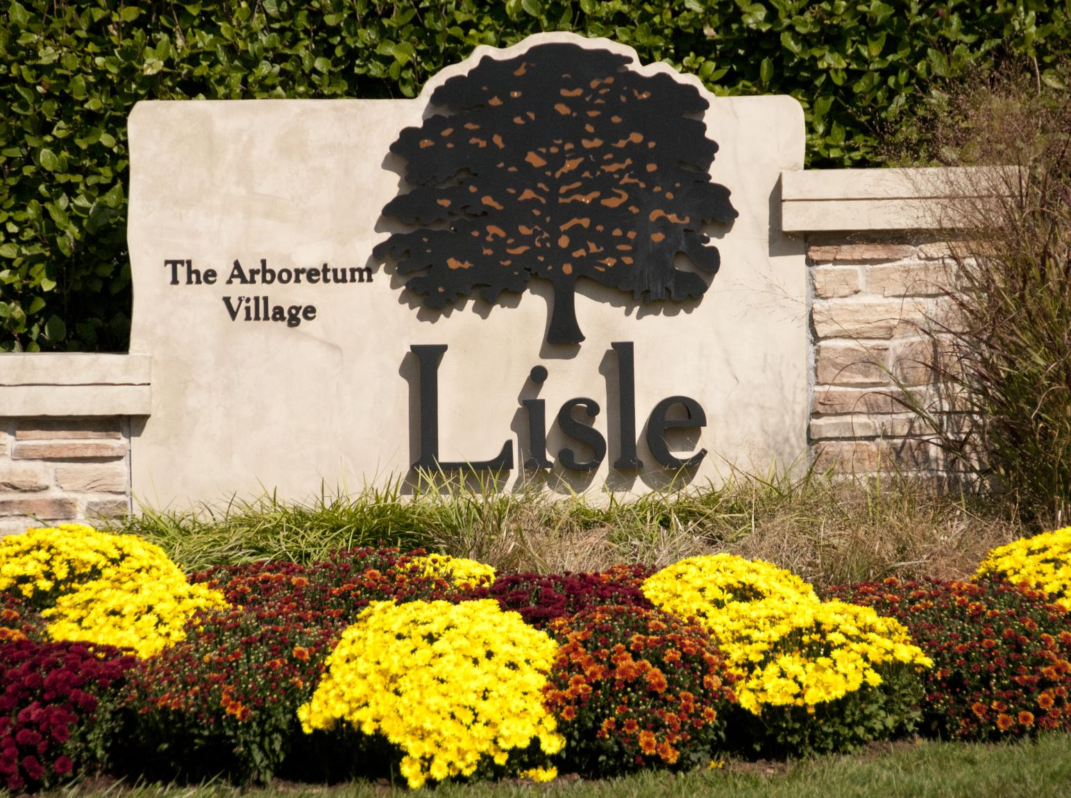 Village of Lisle Sign