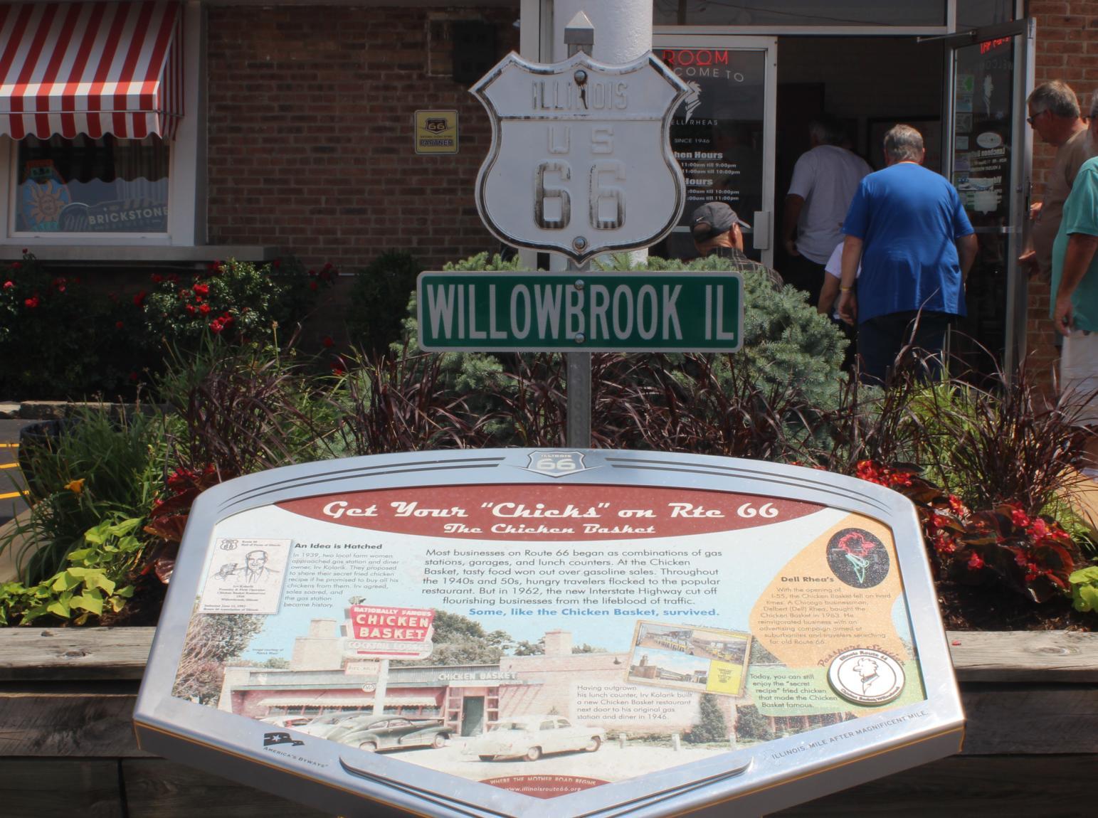 Secondary Navigation - Willowbrook