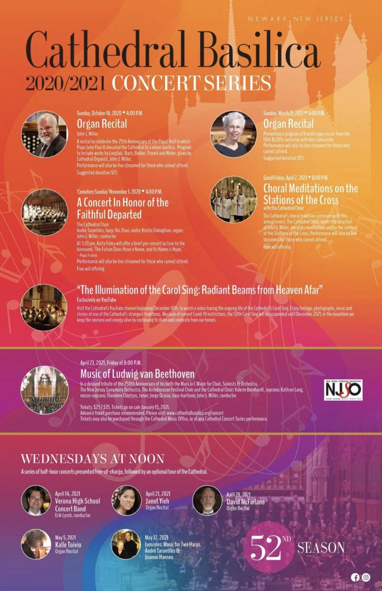 Cathedral Basilica 2020-2021 Concert Series Info