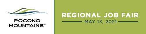 Poconos Regional Job Fair - May 13, 2021