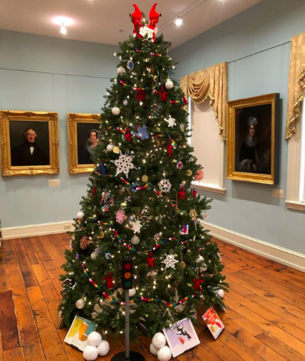 A Holiday Tree on display during the Festival of Trees at the Morven Museum in Princeton