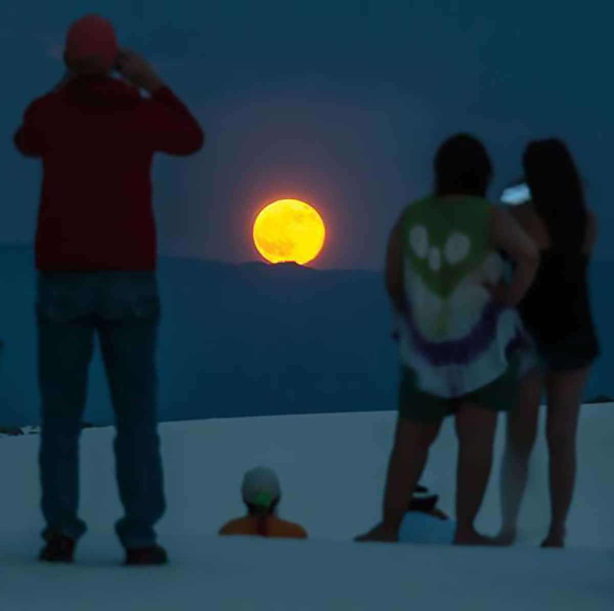 White Sands Moonwalk