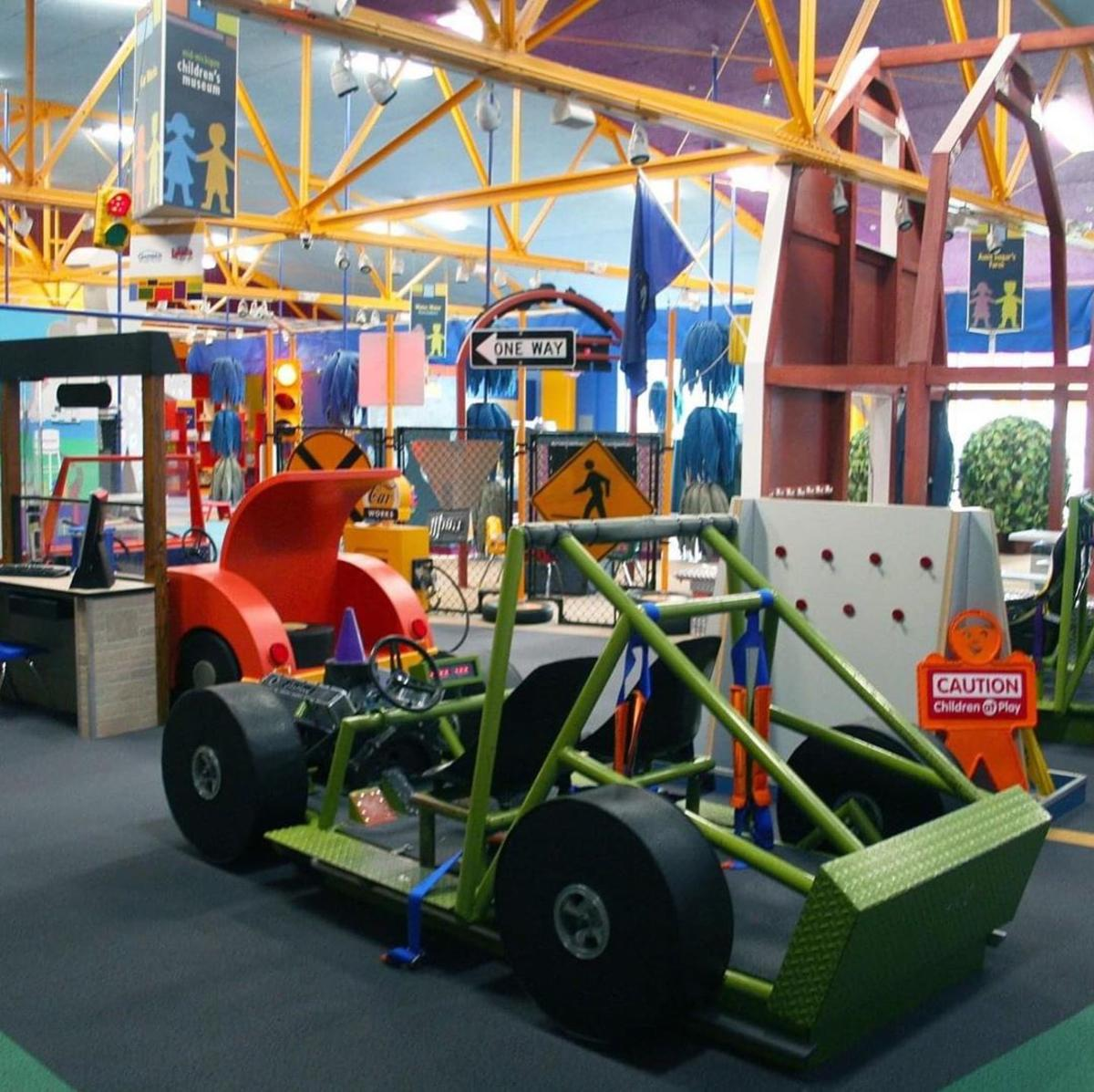 Colorful exhibits at the Mid-Michigan Children's Museum in Saginaw