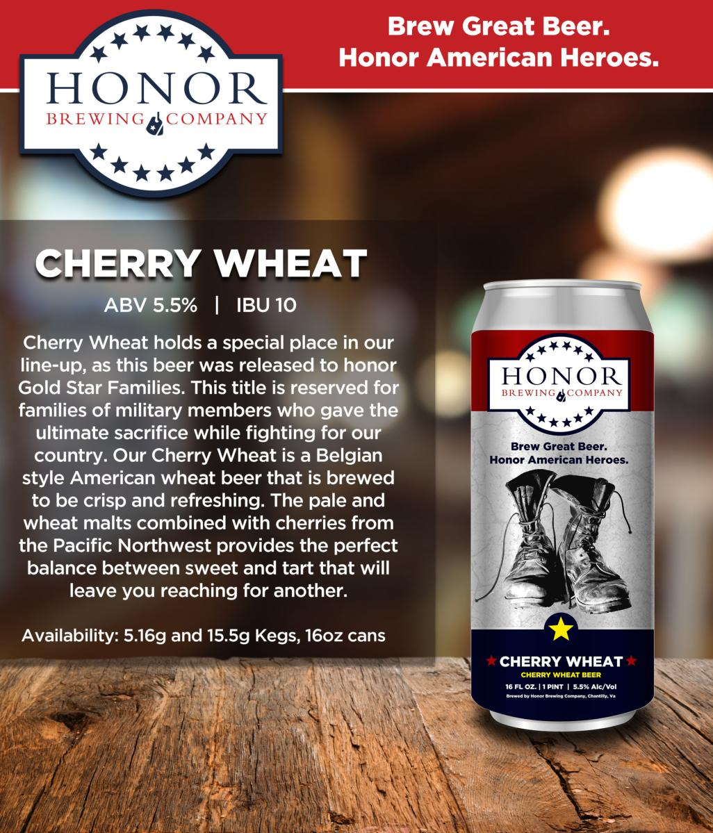 Honor Brewing Co. - Cherry Wheat