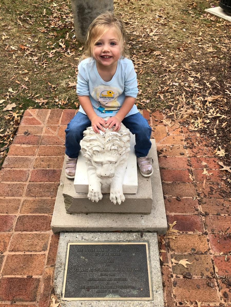 Big Spring Park Lion