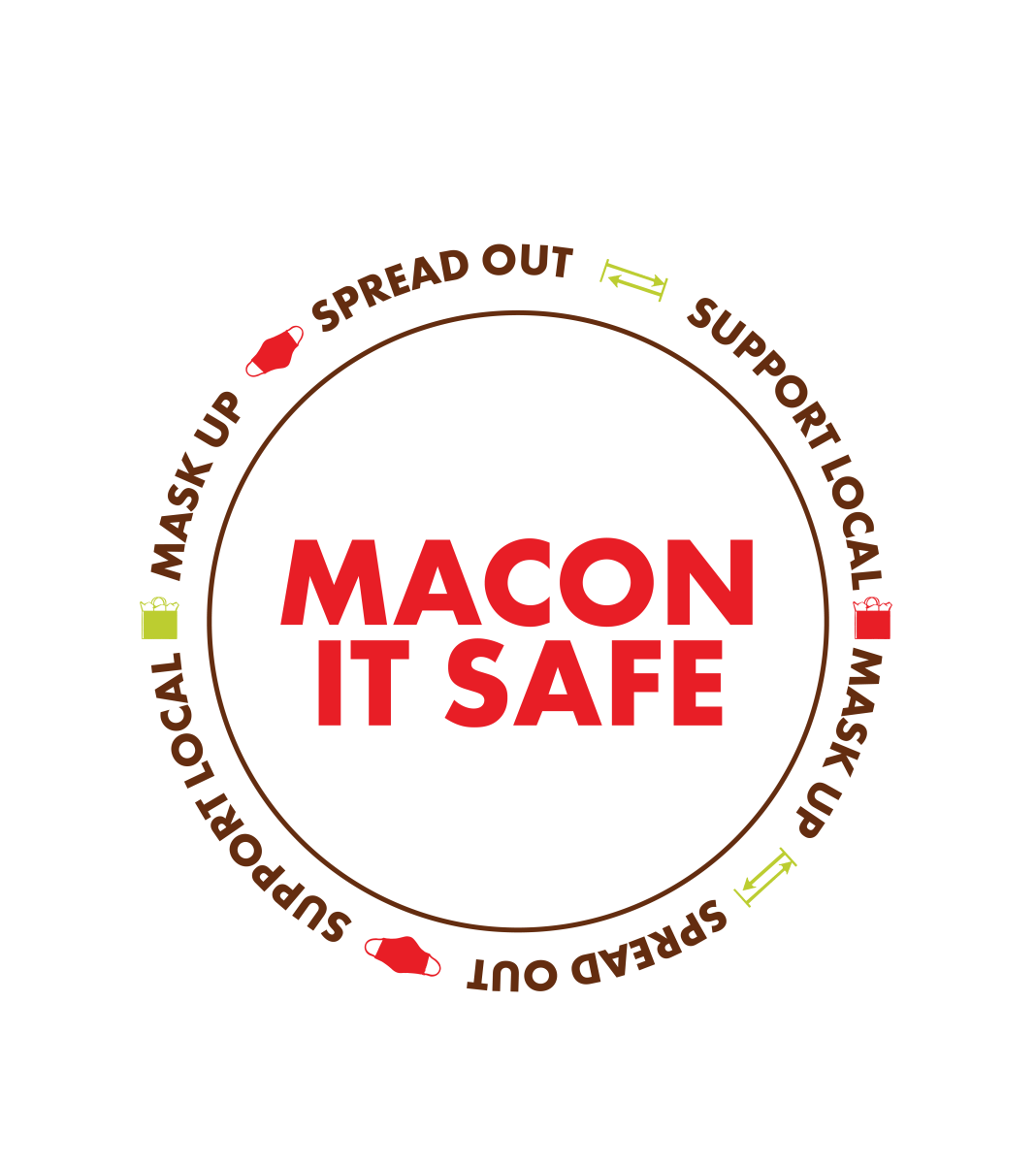 Macon It Safe Logo
