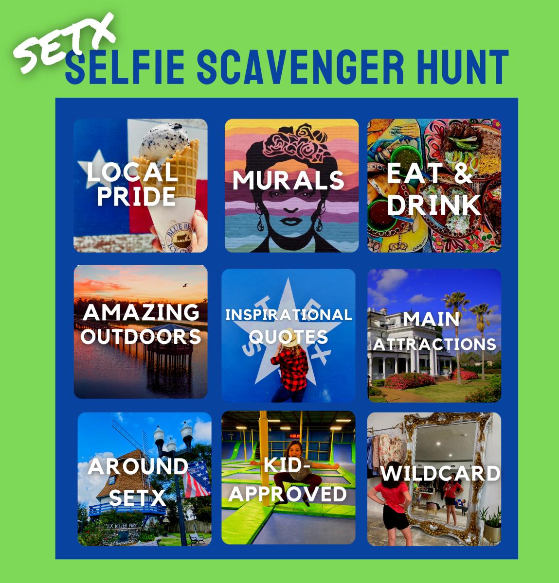 setx selfie scavenger hunt