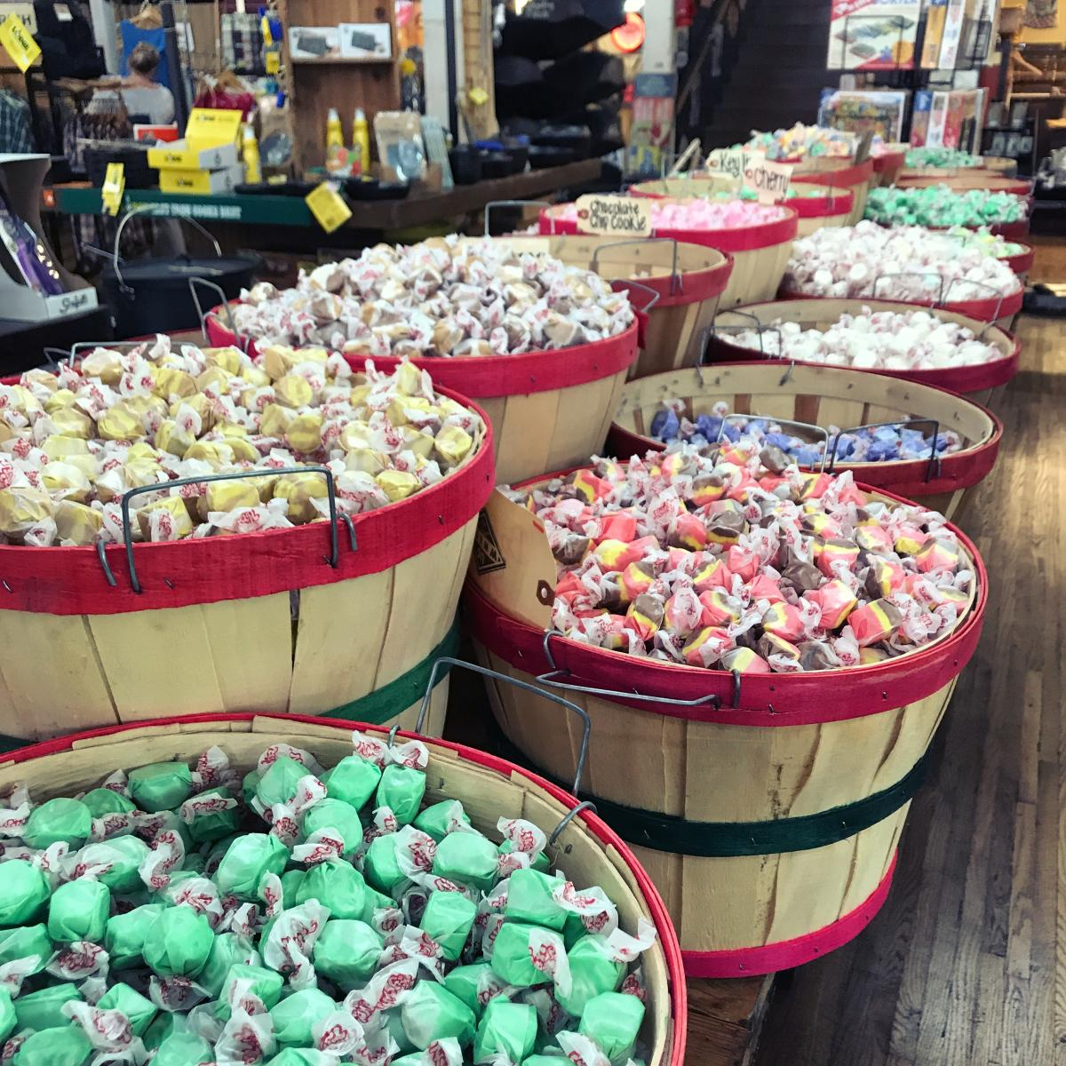 u.g. white mercantile candy