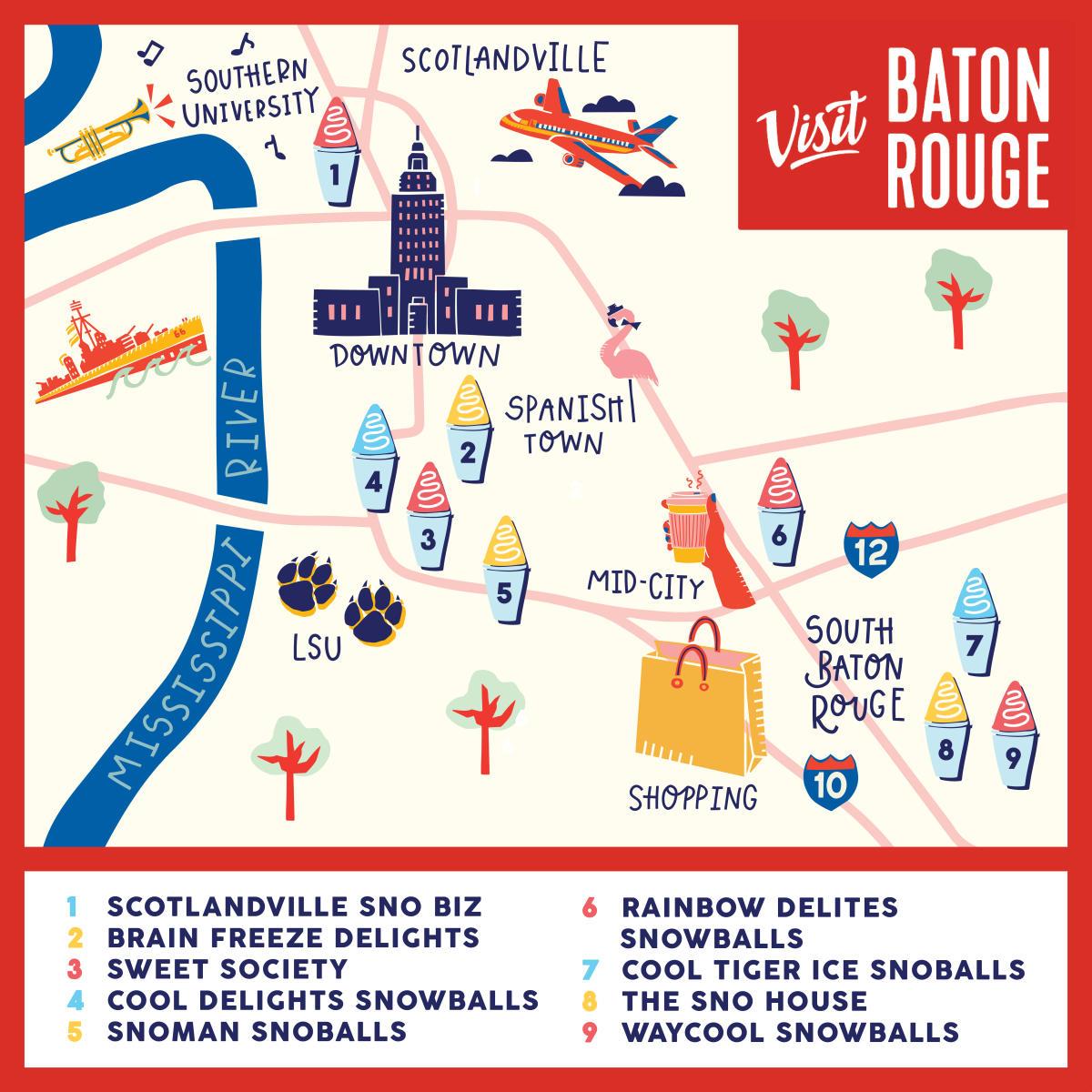 Snoball Map