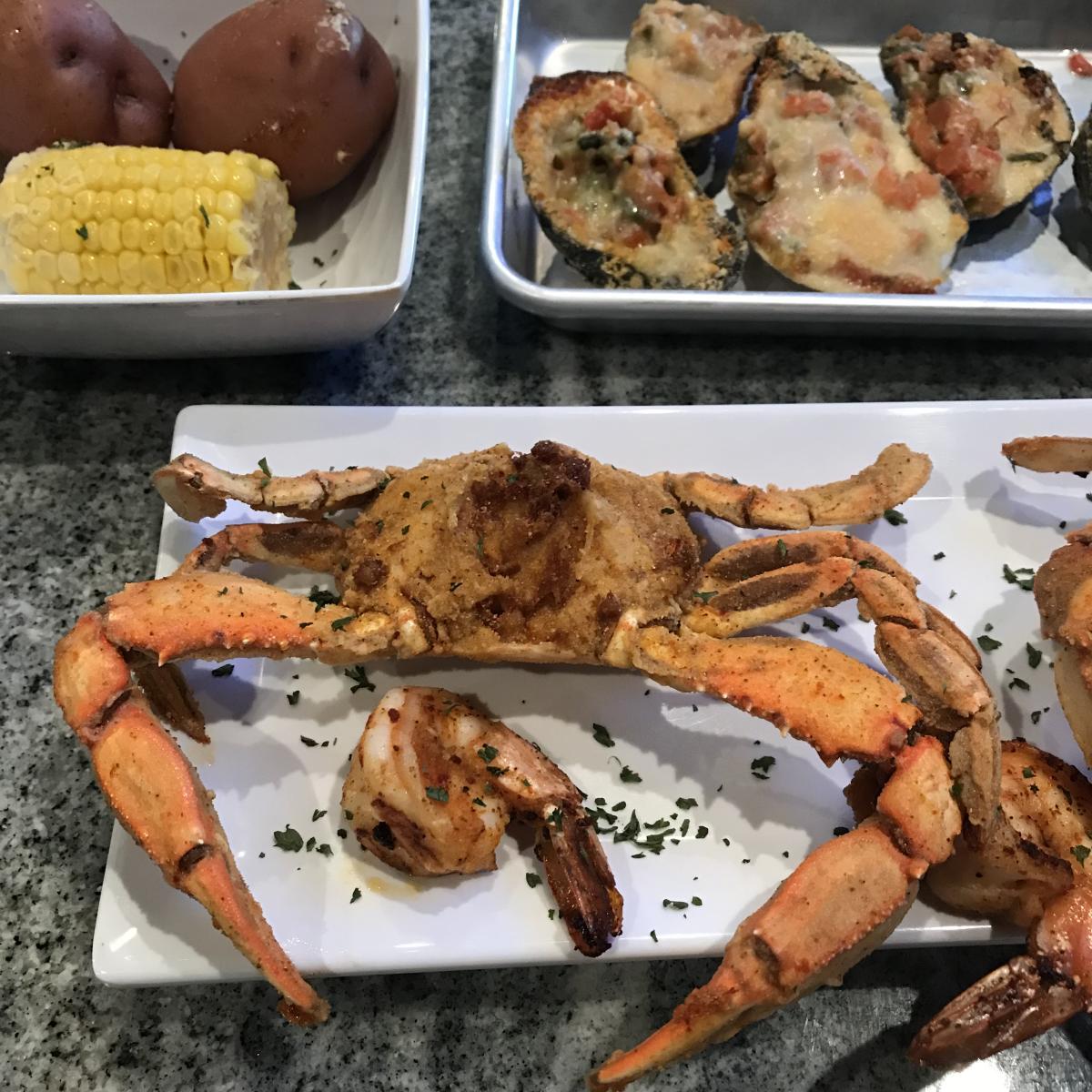 Reel Cajun - BBQ Crabs