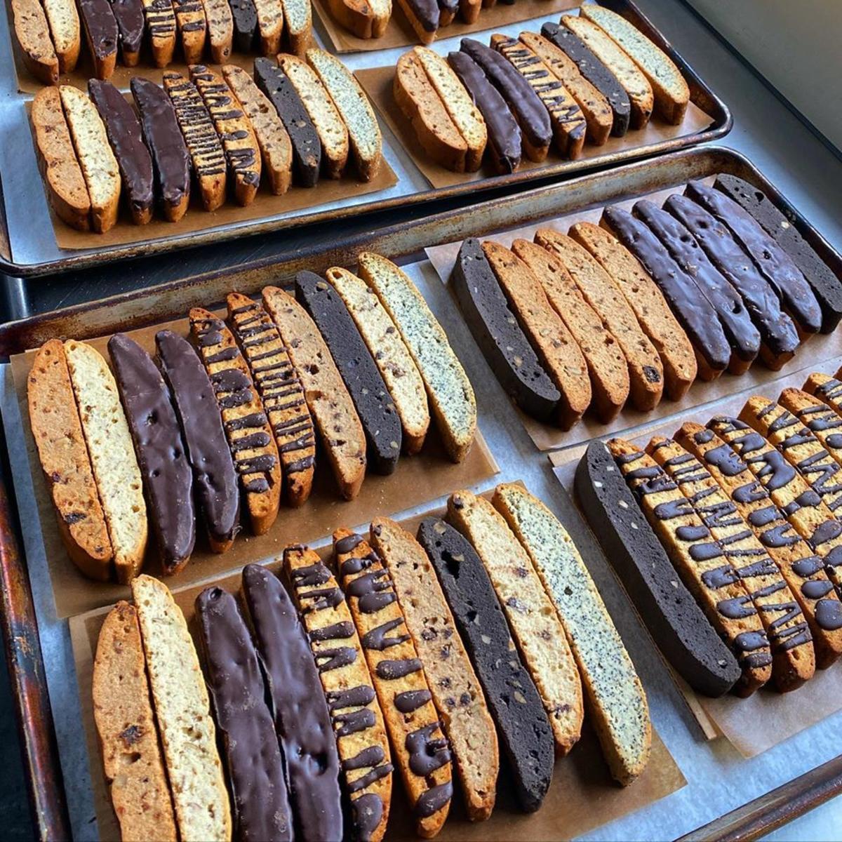Biscotti stand