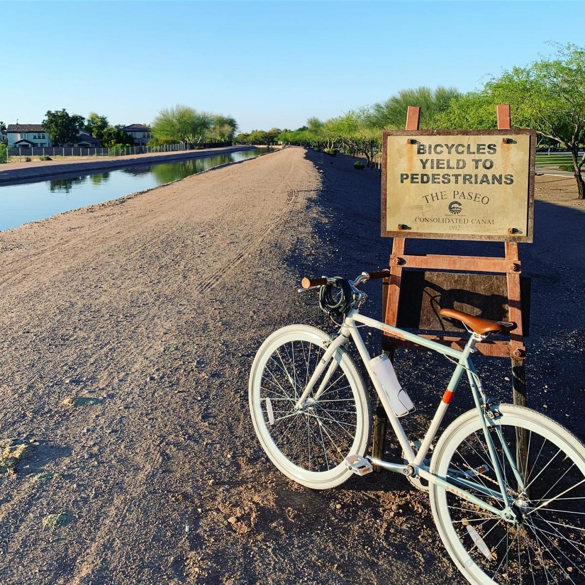 Consolidated Canal Path and Paseo Trail in Chandler, AZ