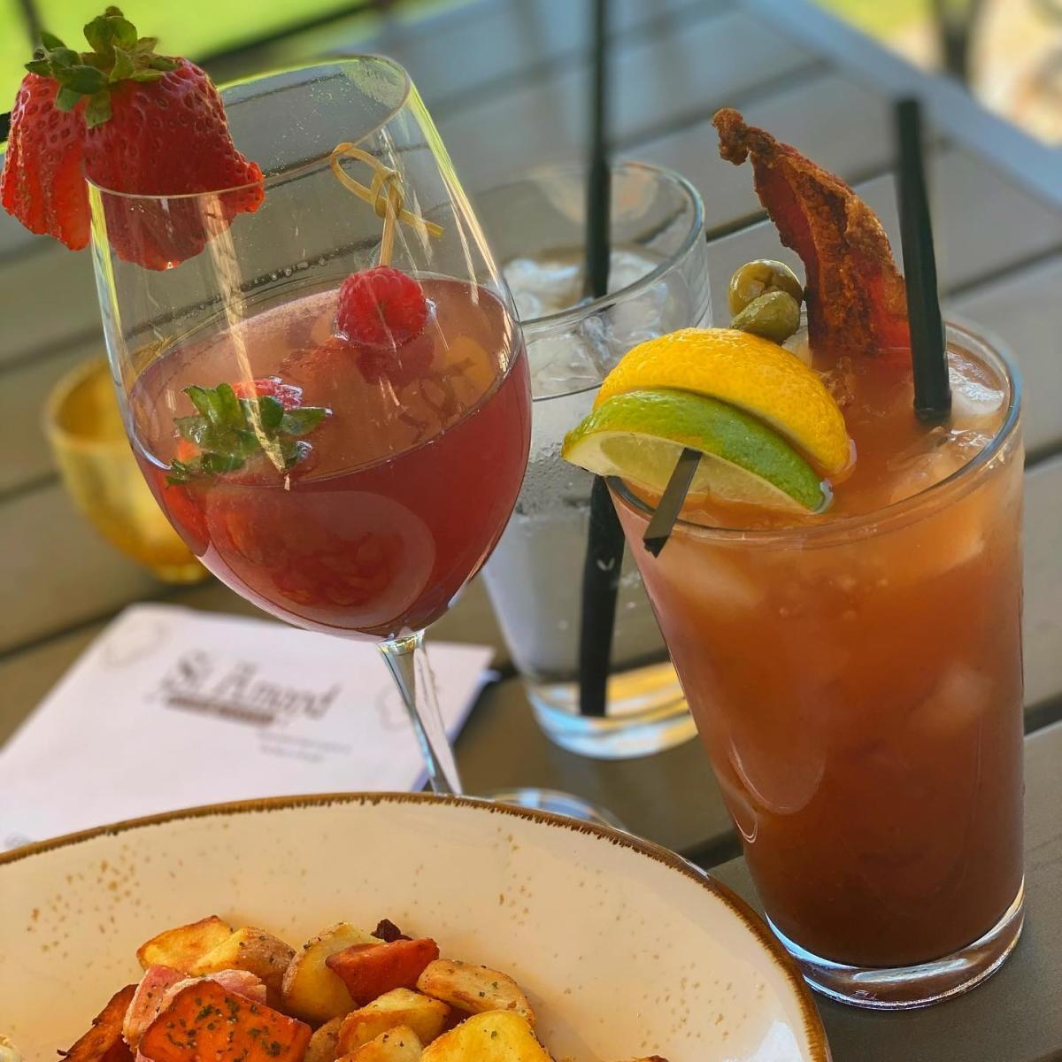 St. Amand Kitchen + Cocktails - Bloody Mary