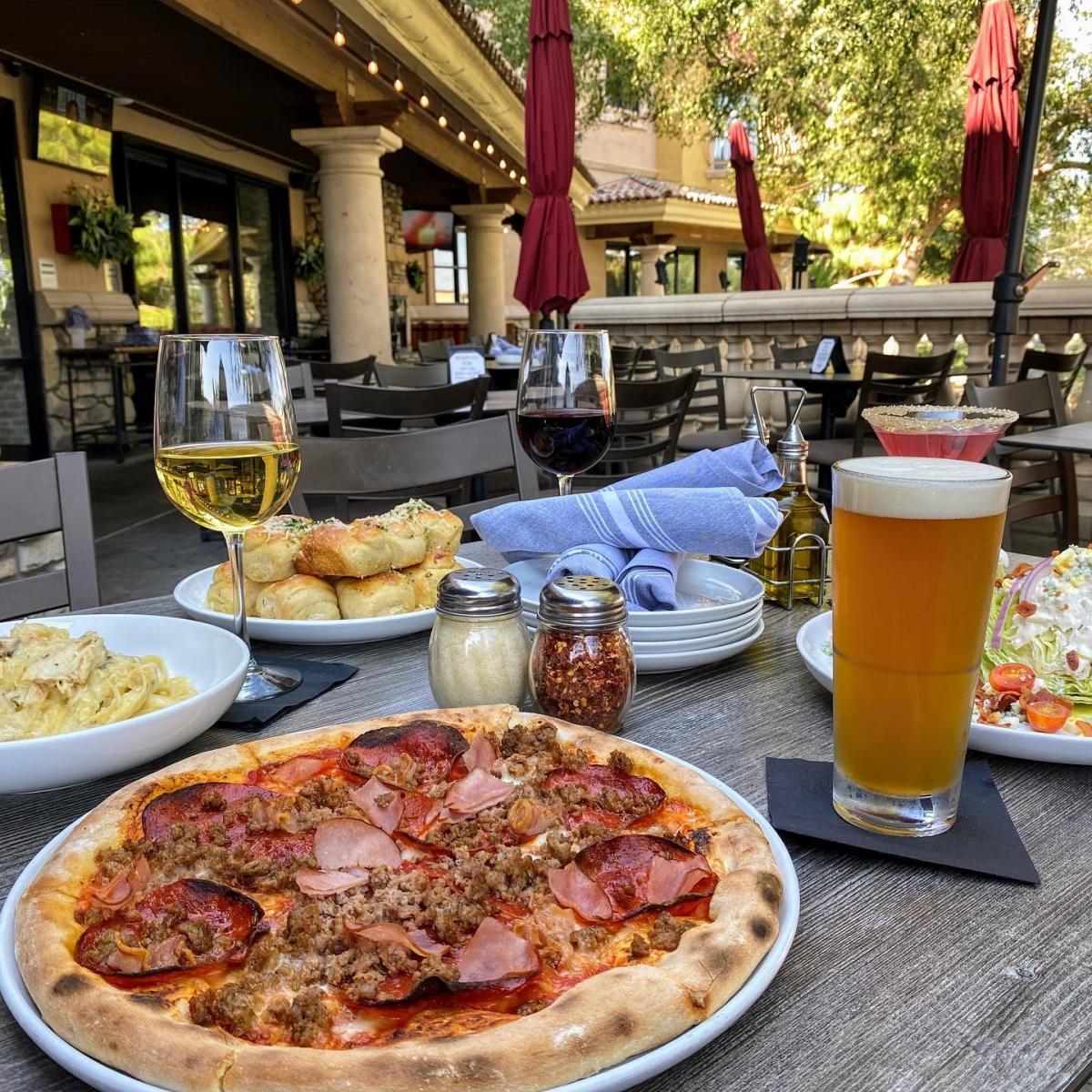 Stone + Vine Urban Italian - Outdoor Dining