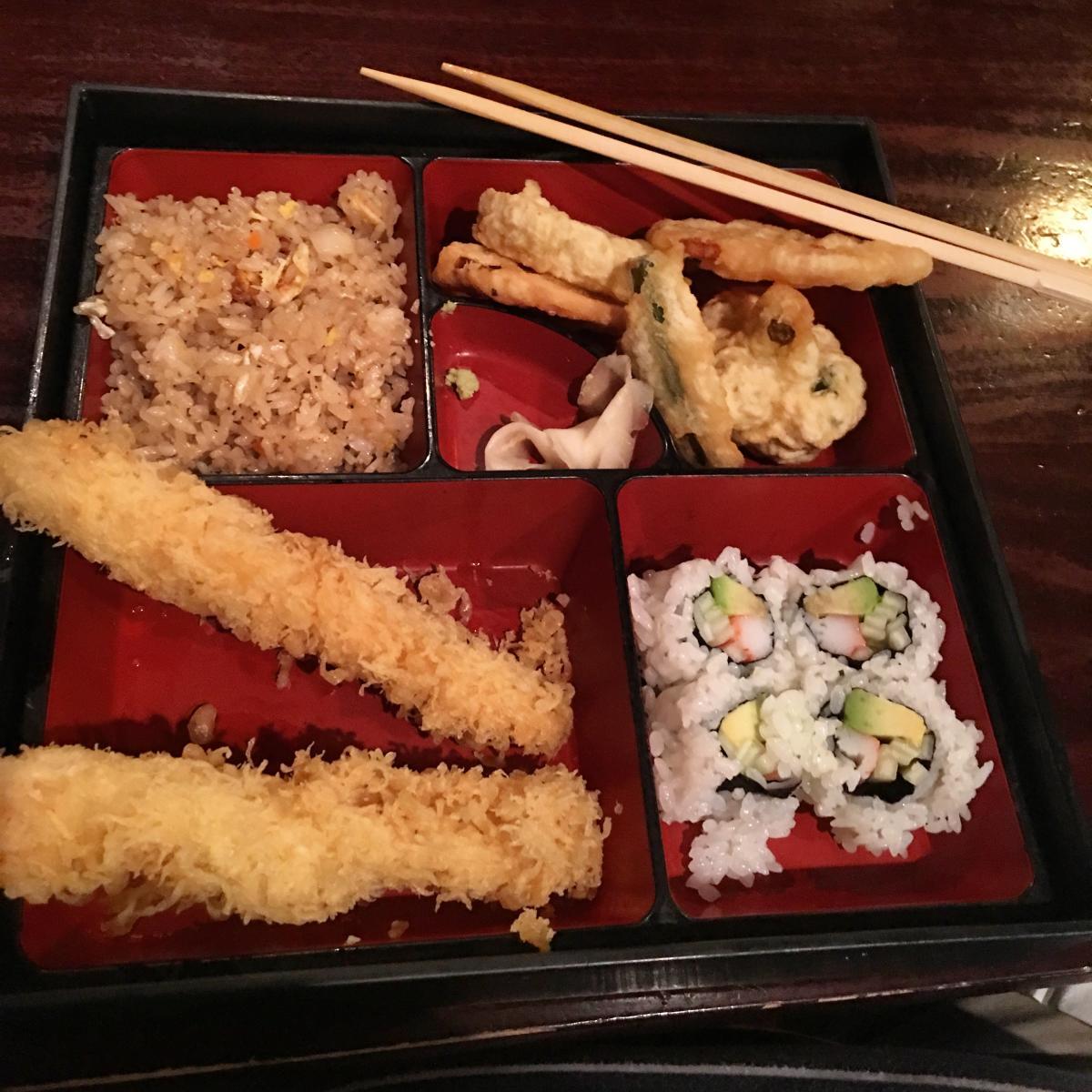 Lunch Bento Box at Koto