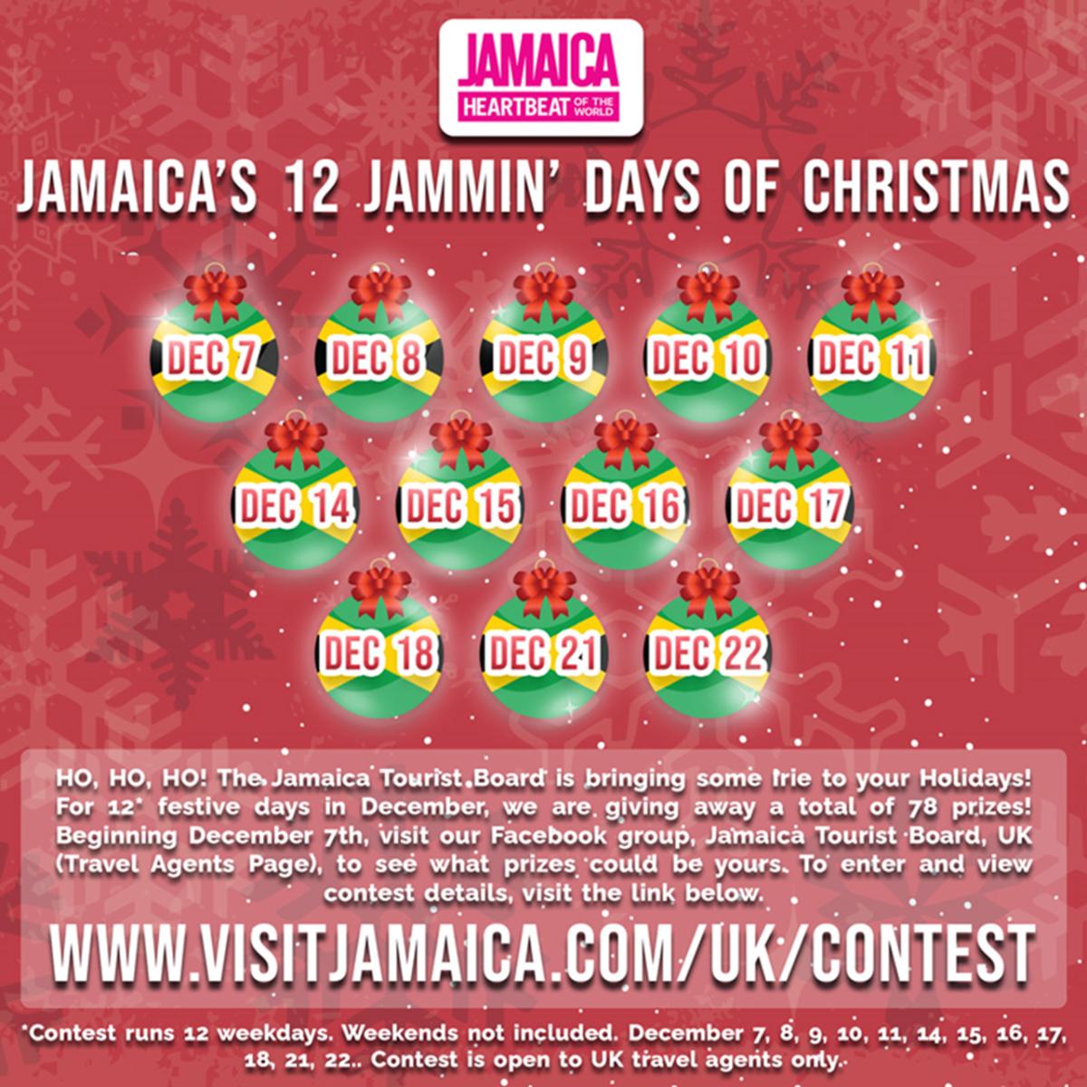 UK 12 Days of Jammin