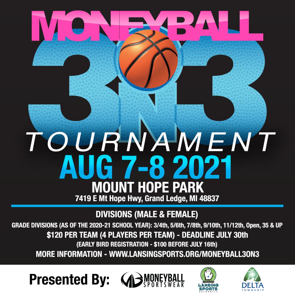 Moneyball 3on3 2021 Flyer