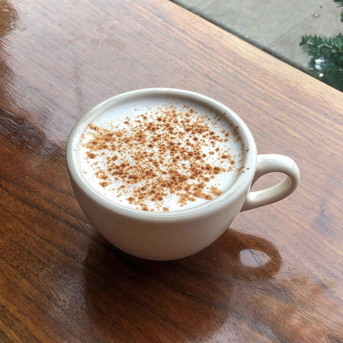 Spiced Date Nitro Latte, Photo courtesy of The Coffee Ethic