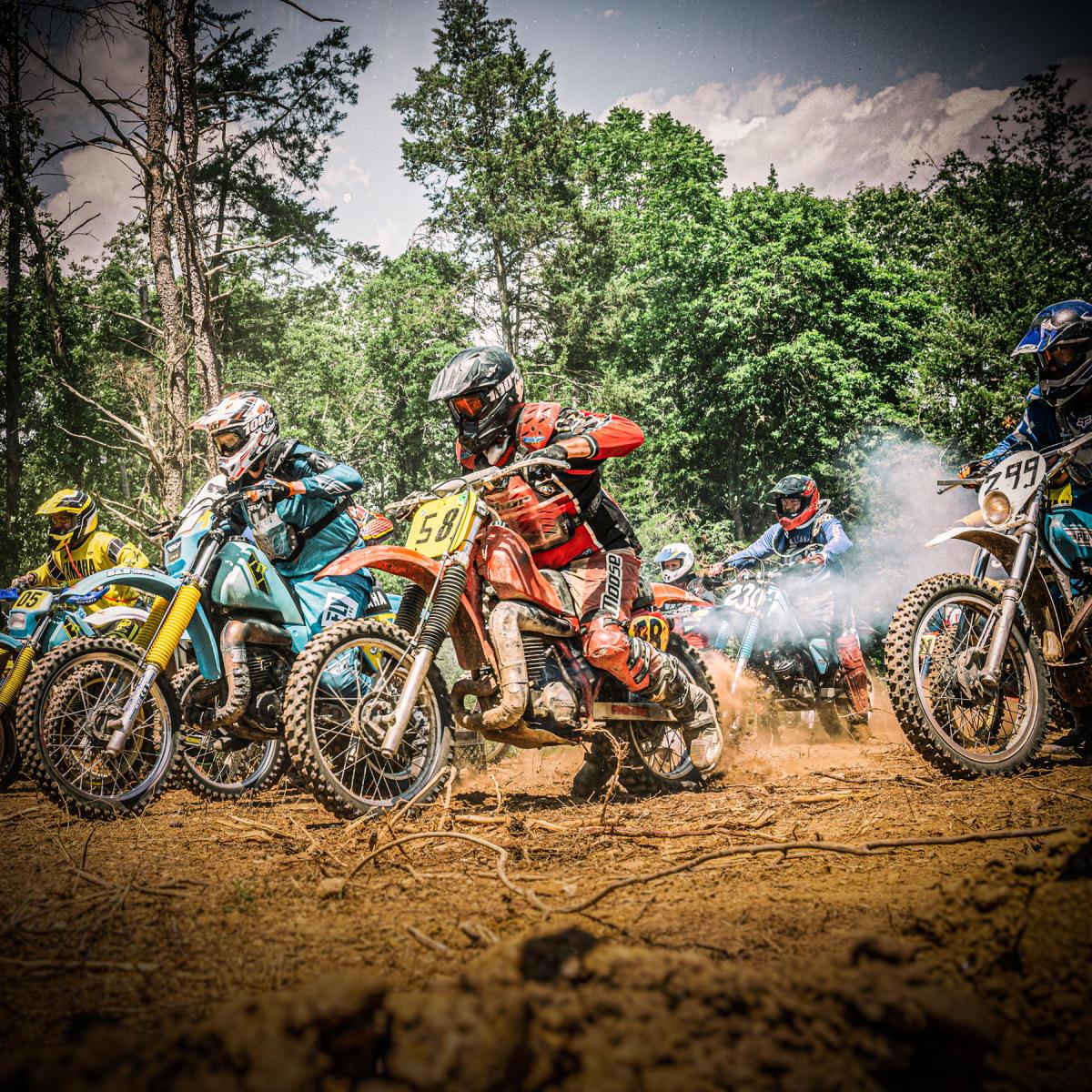 AHRMA Classic MotoFest - Dirt Track Bikes | Topeka, KS