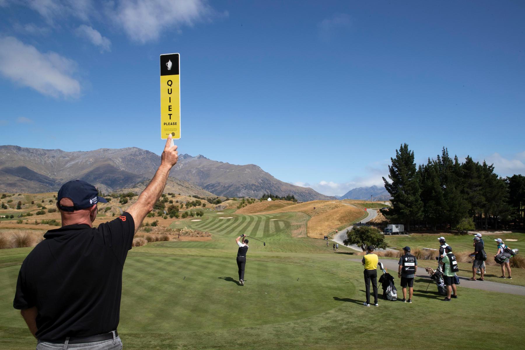 101st NZ Golf Open, shot by Photosport.nz