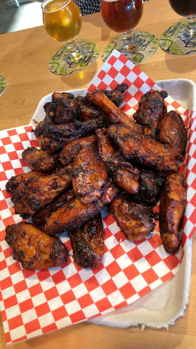 Smoked Wings and Craft Beer