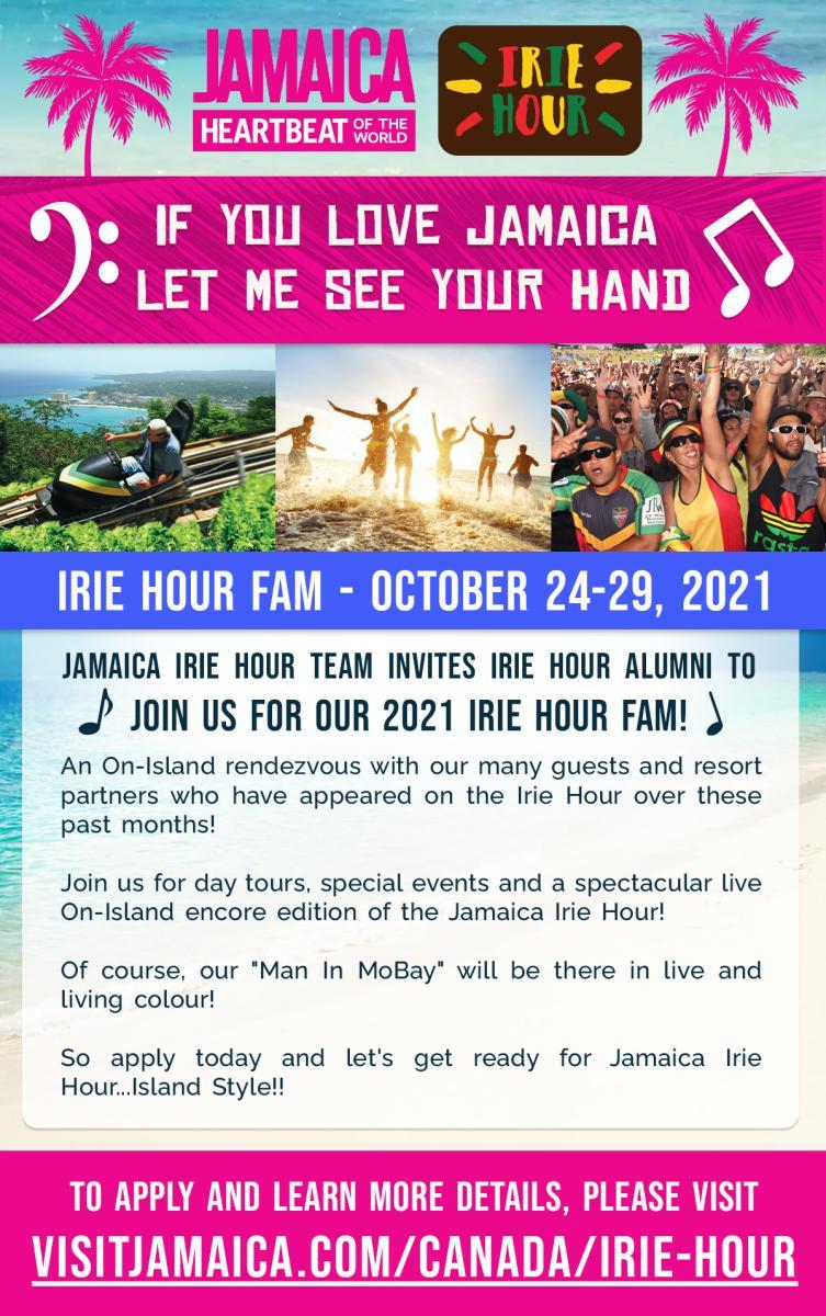 Irie Hour Flyer