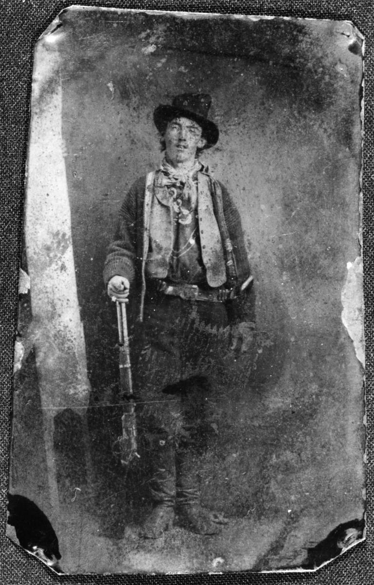 The authenticated tintype of Billy the Kid, New Mexico Magazine