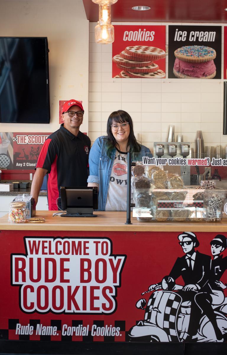 Mike Silva and Kristin Dowling, Rude Boys, Albuquerque, New Mexico Magazine