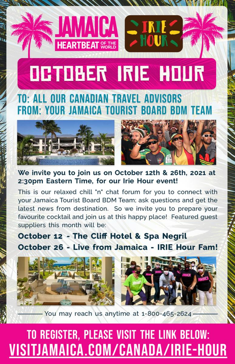 Irie Hour - October 2021