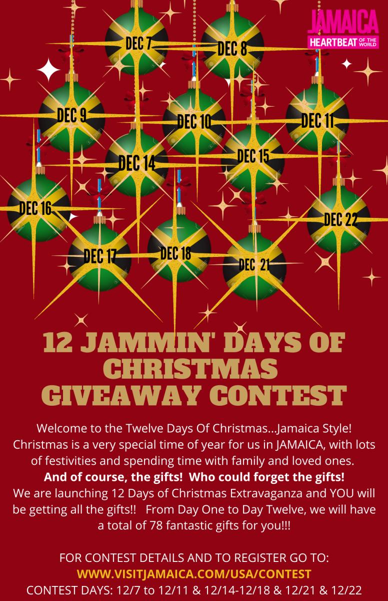 USA 12 Jammin Days of Christmas