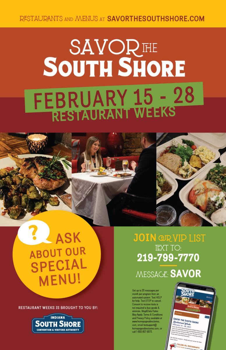 Savor the South Shore Promotional Poster