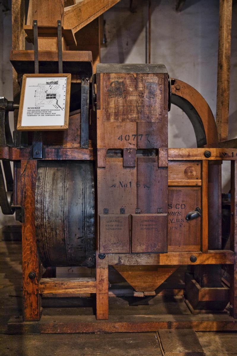 Mora Valley, Cleveland Roller Mill Interior