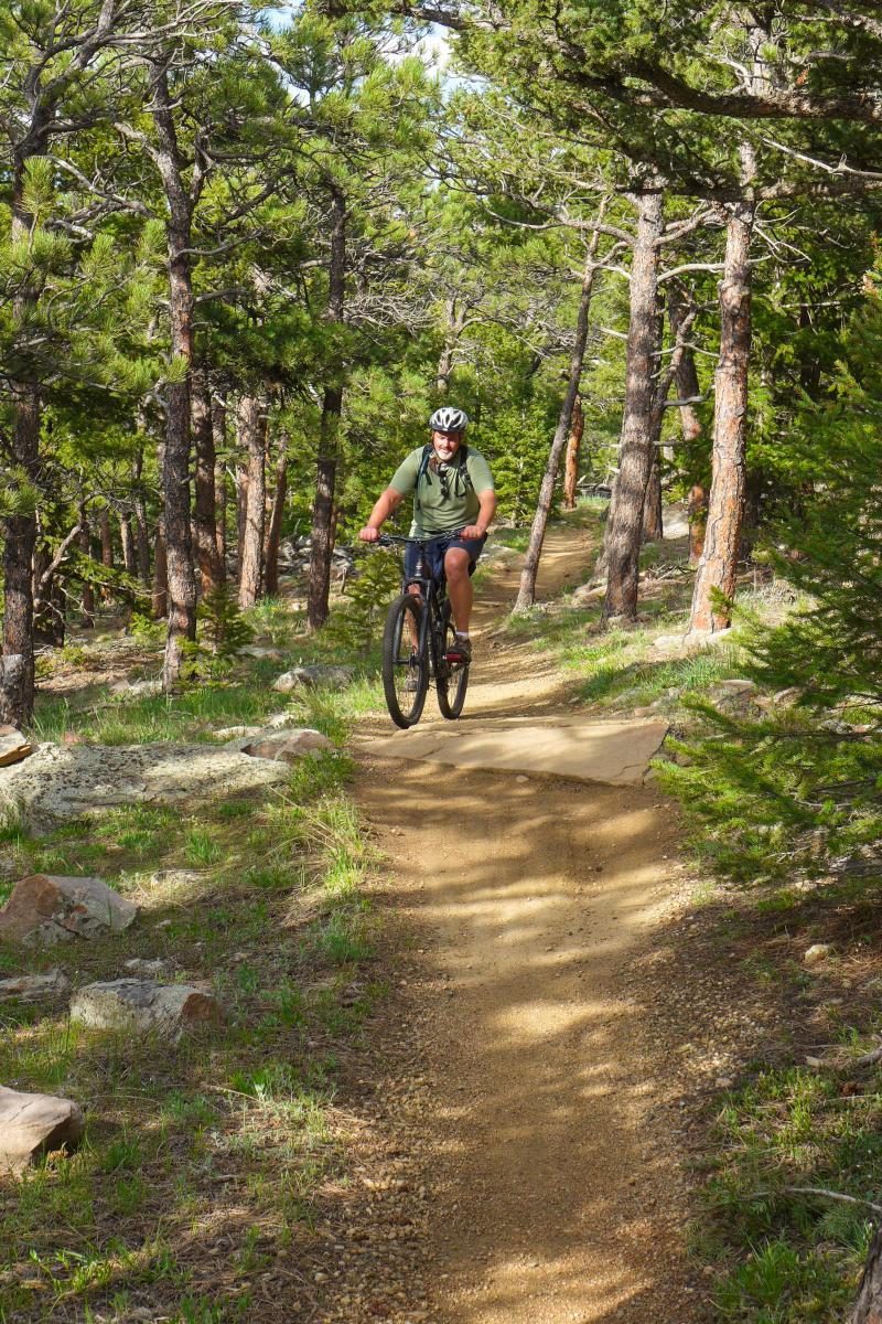Mountain Biking Boulder Wild Turkey