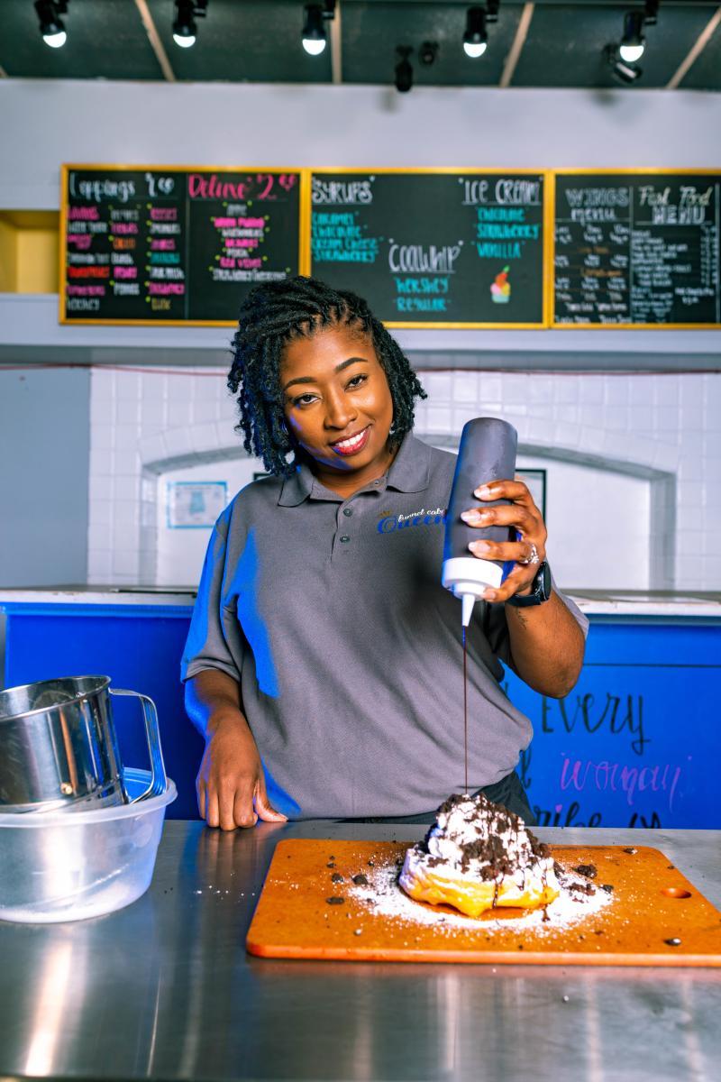 Royalty Funnel Cake Owner