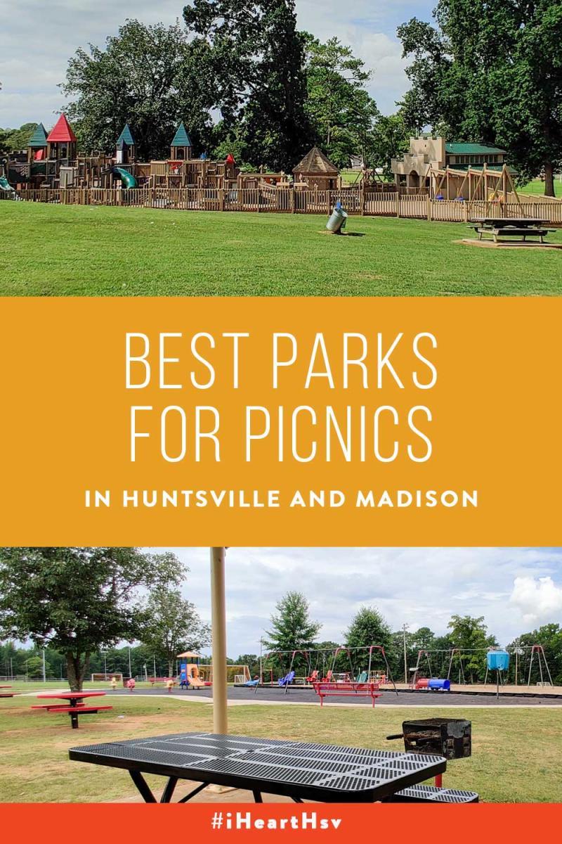 Outdoor Park Picnics Huntsville Pin