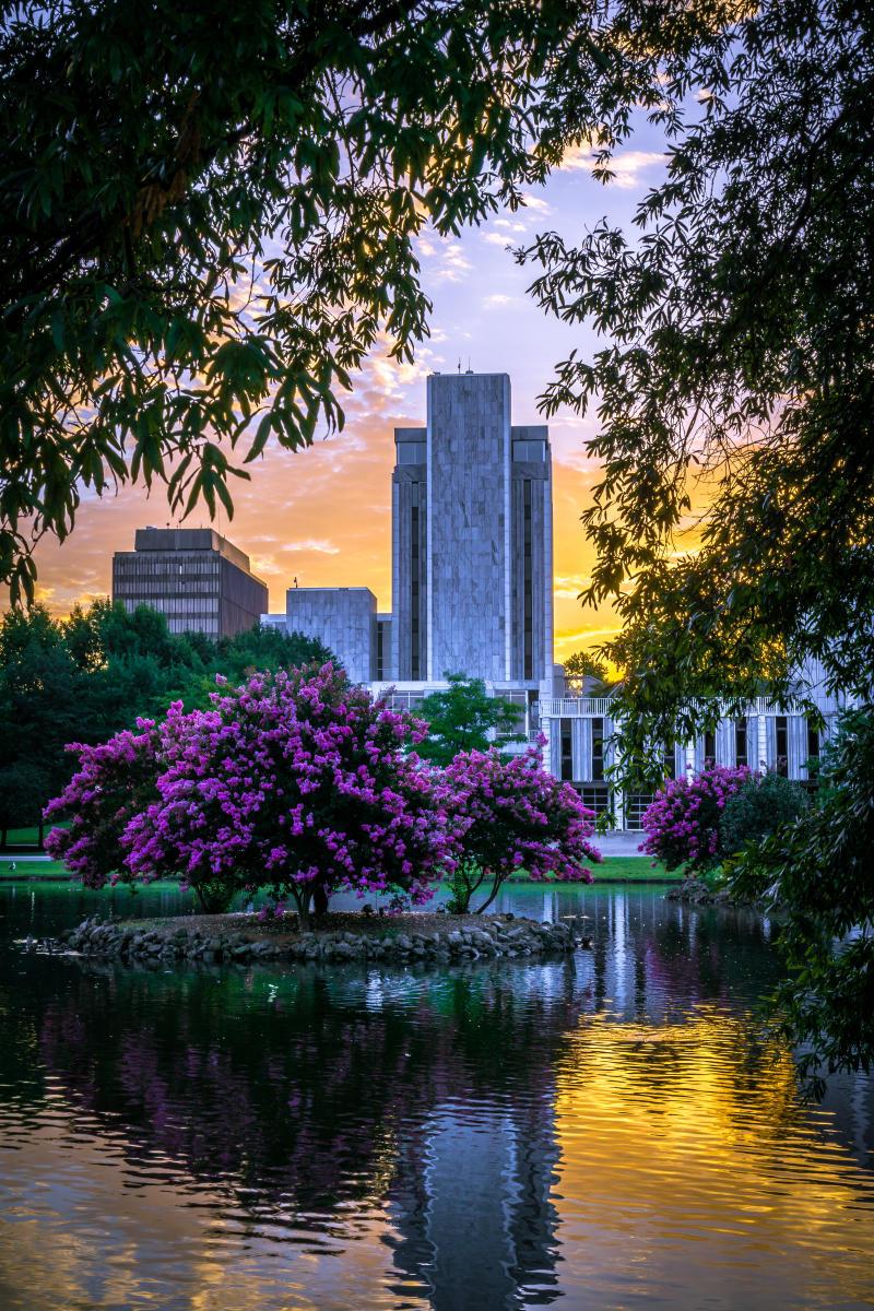 Huntsville Downtown City Hall Big Spring Park