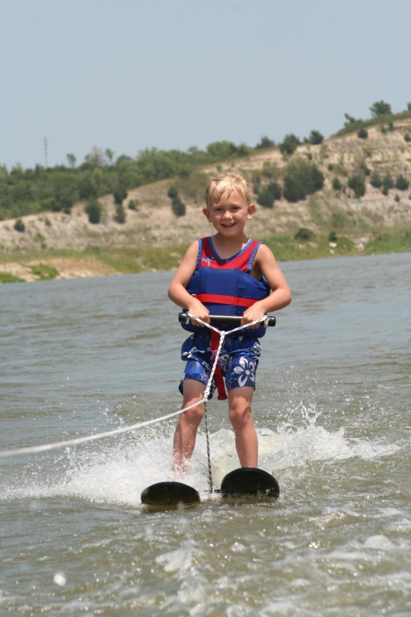 Water Skiing Lake Activities Tuttle Creek Lake Boating
