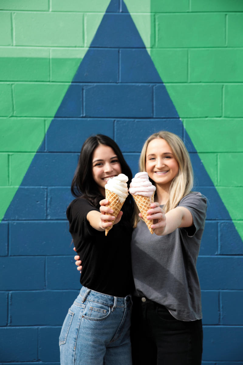 SweeTreats Ice Cream at Deep Roots Mural