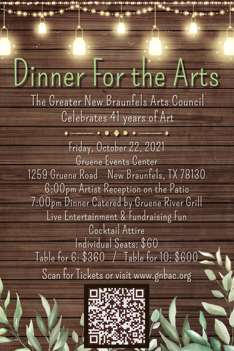 Dinner for the Arts