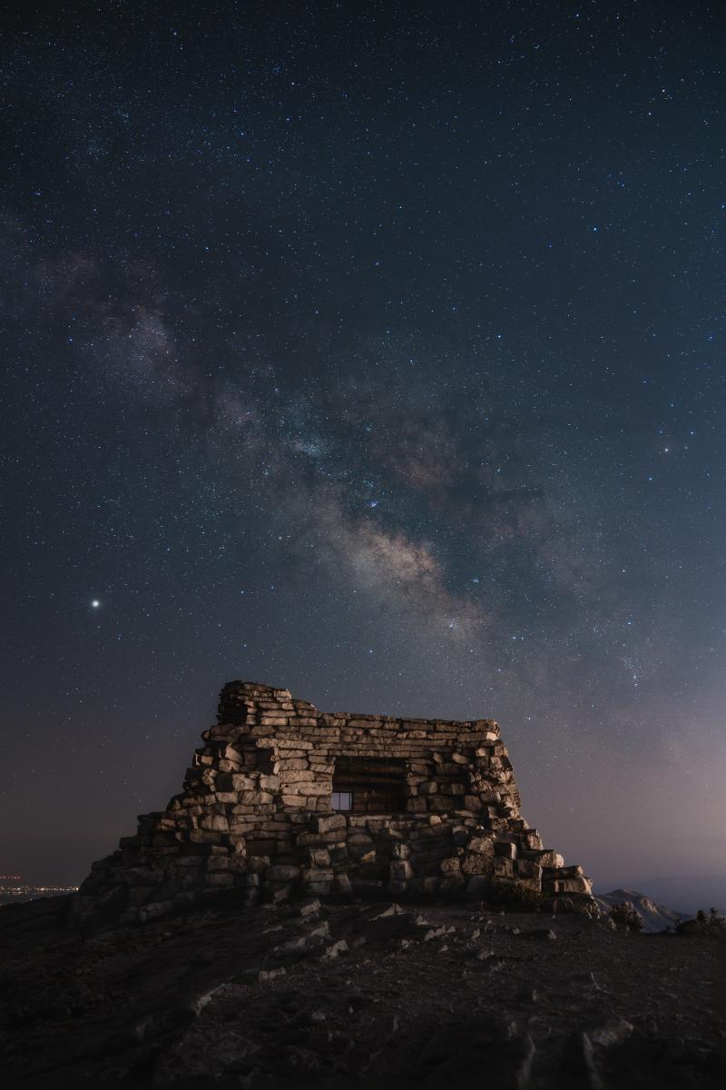 Kiwanis Night Sky, Photograph by Ian Beckley, New Mexico Magazine