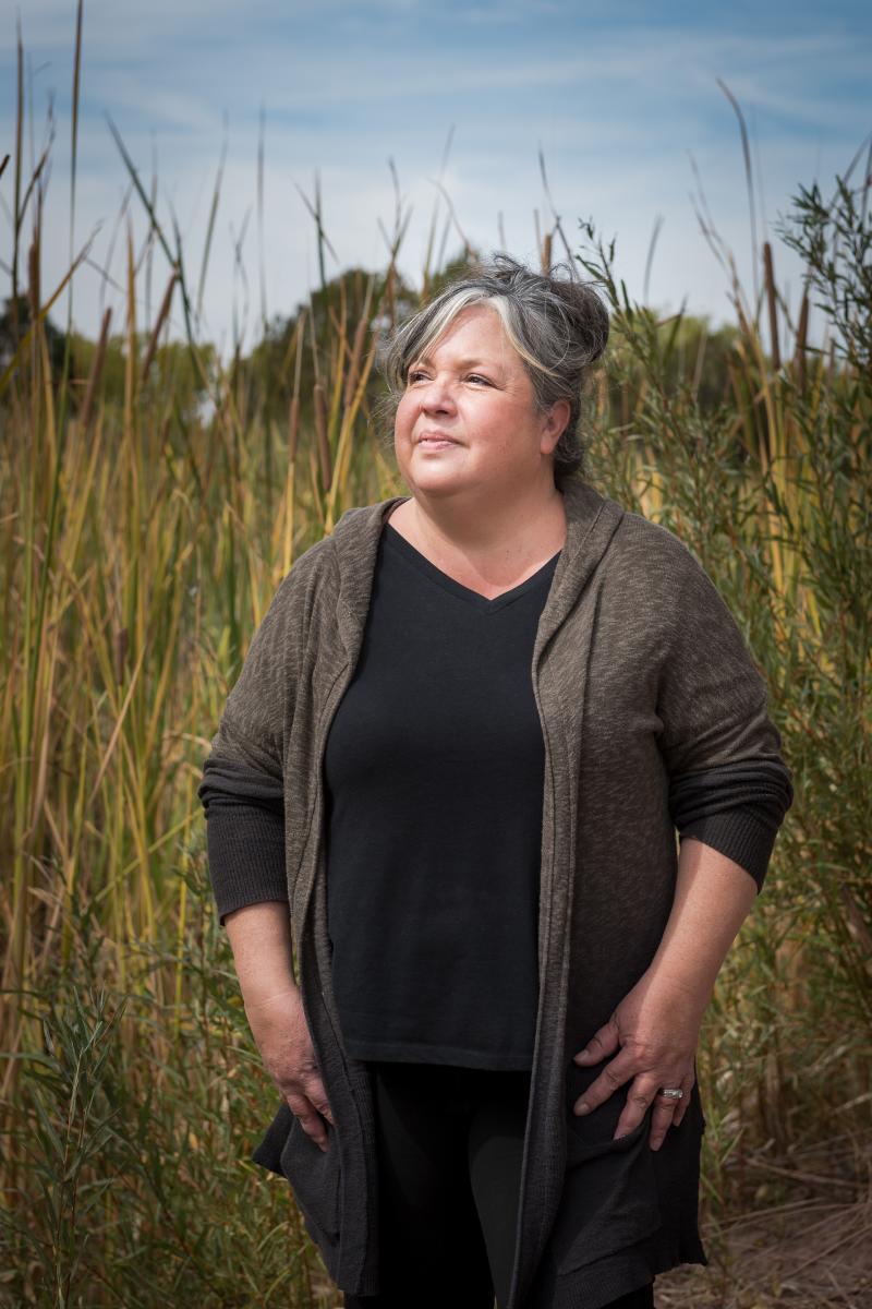 Land-grant president Rebecca Correa-Skartwed