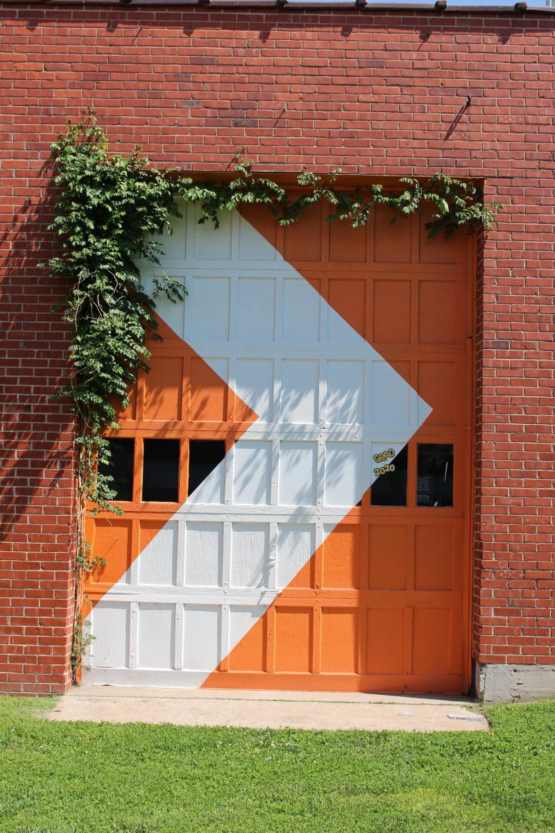 Orange Mural