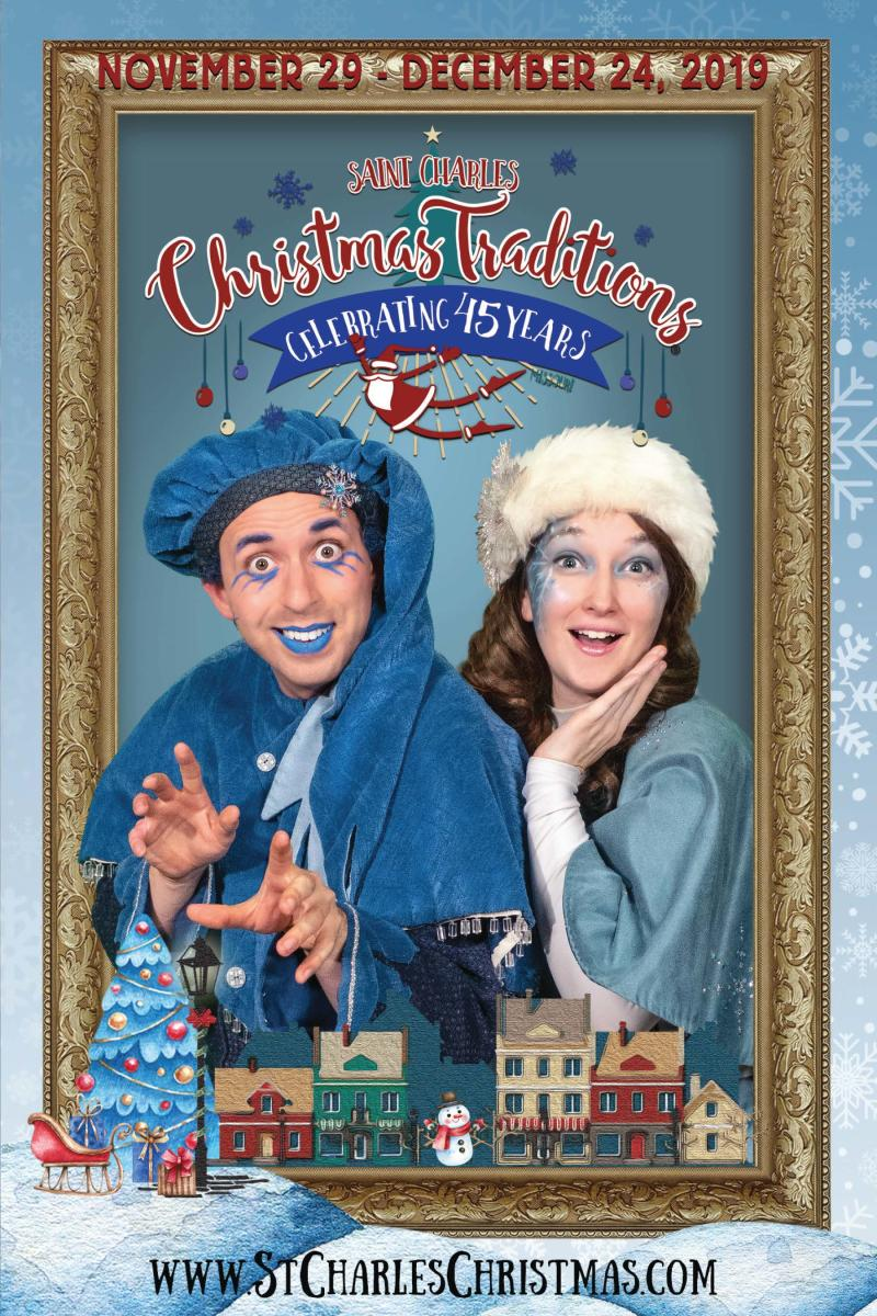 Saint Charles Christmas Traditions Festival Guide Cover