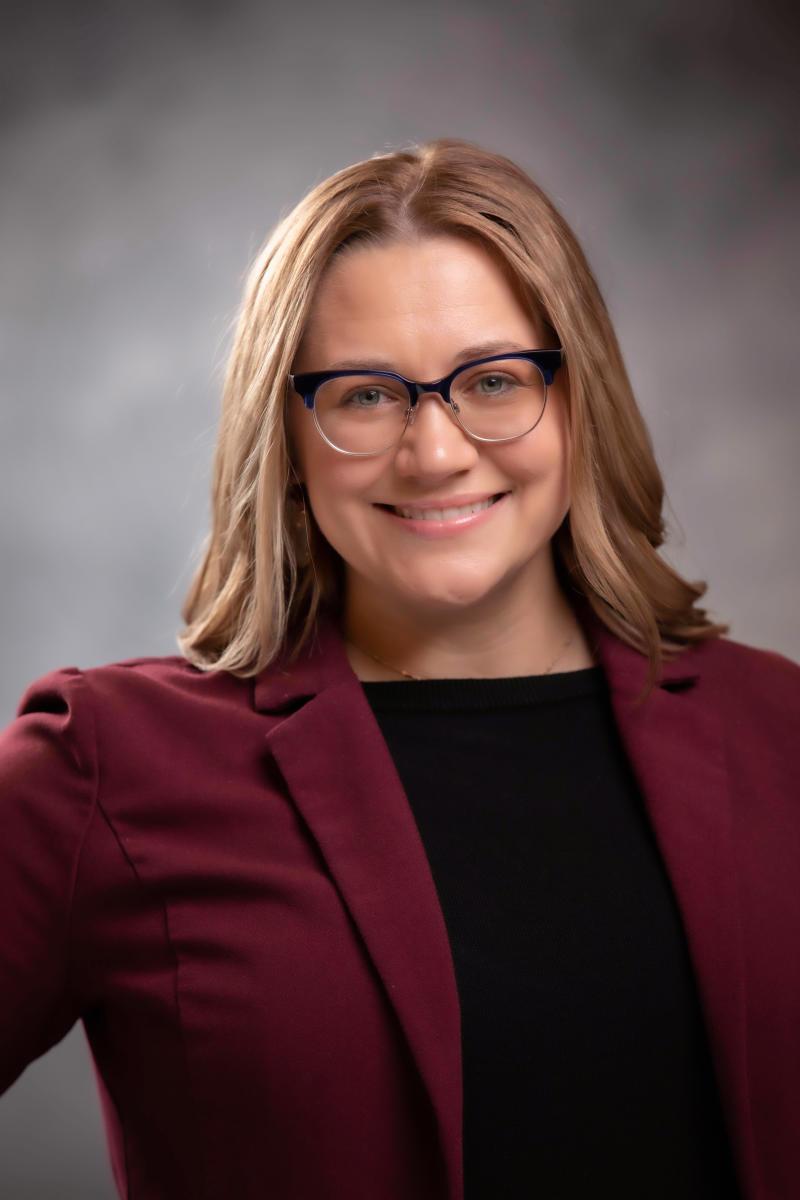 Amber George, Communications Coordinator