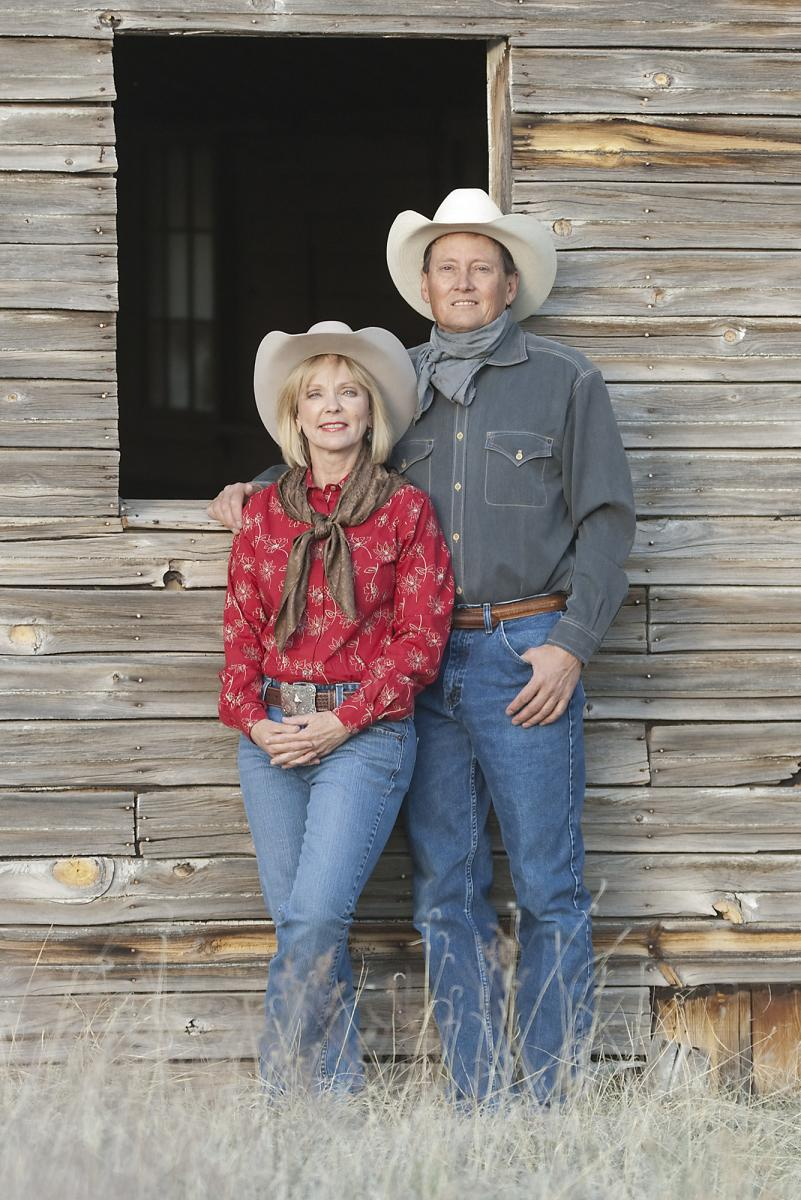 James and Cindy Hobbs at Flying J Ranch
