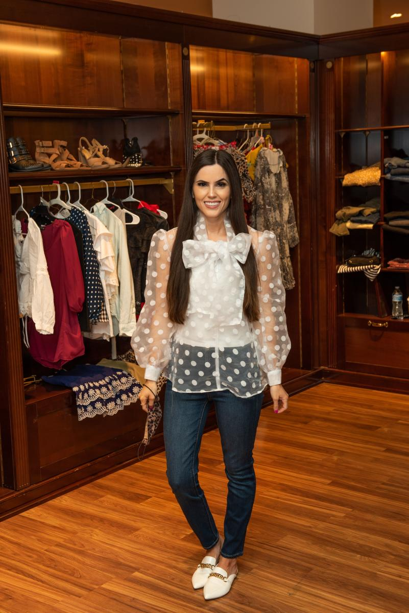 Brittany Fullwood at Blogger Closet Sale