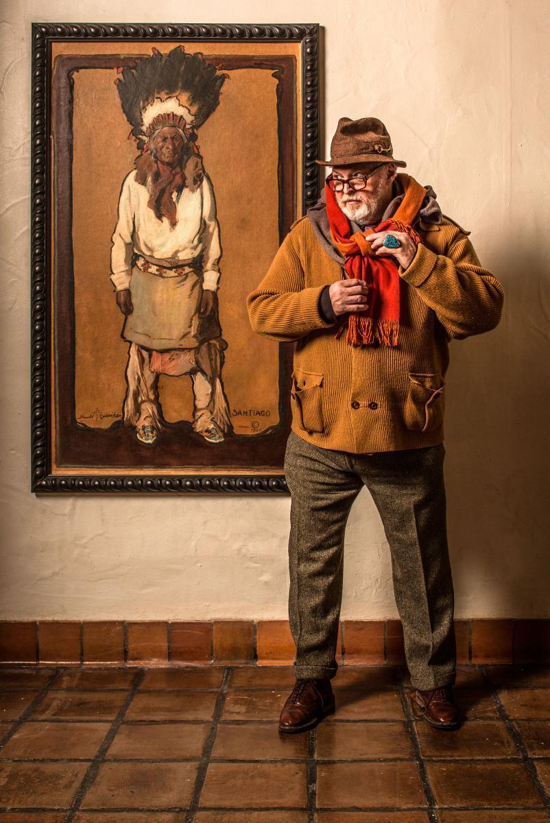 Steve Wimmer, concierge of La Fonda on the Plaza in Santa Fe