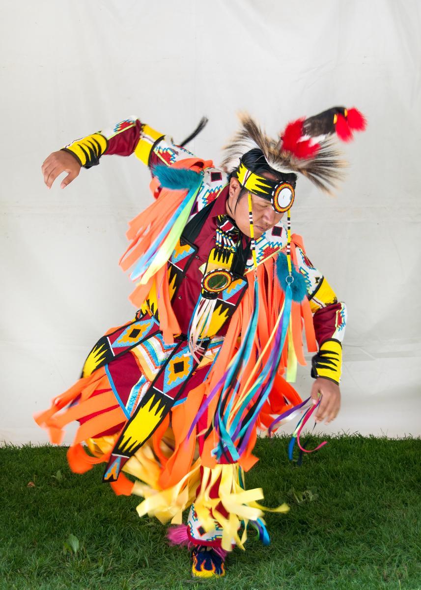 Native Dance at the Santa Fe Indian Market