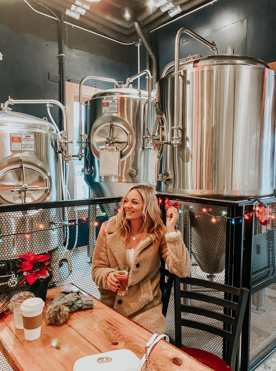 Visitors can get the complete brewery experience at Fishtowne Brewhouse