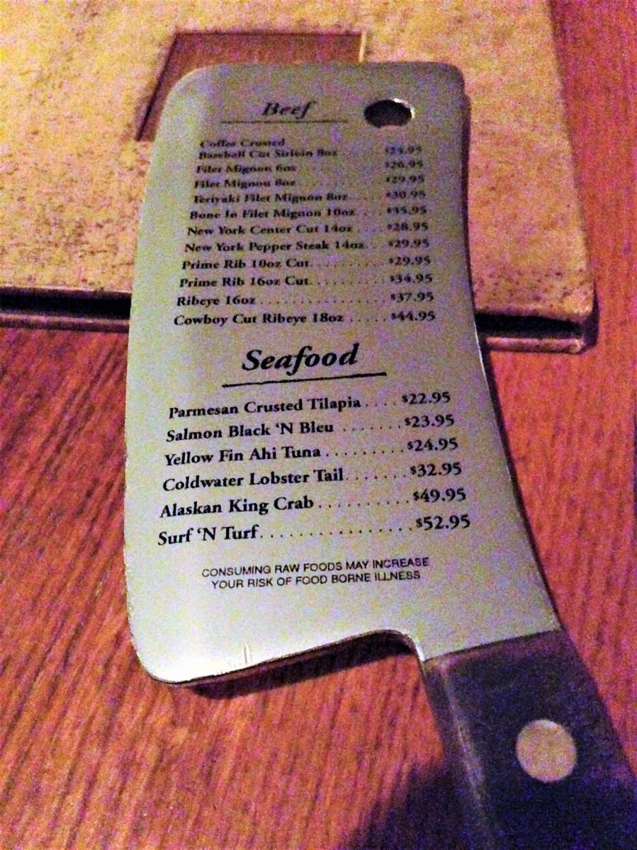 cork 'n cleaver steakhouse-Fort Wayne business lunch